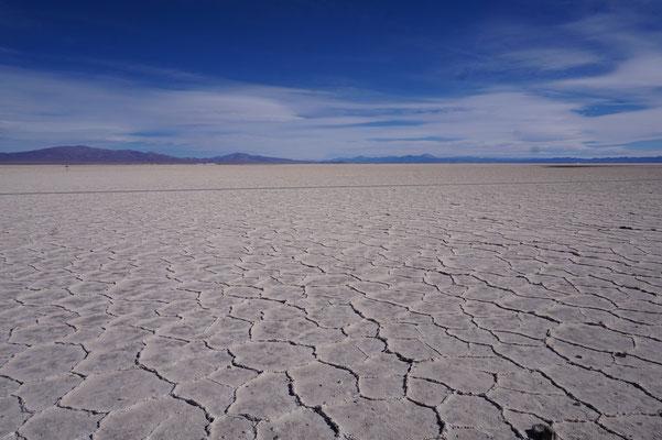 Tolle Oberfläche - salinas Grandes