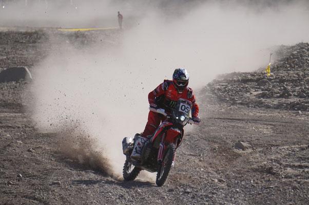 Ricky Brabec im Prolog / Atacama Rally Chile