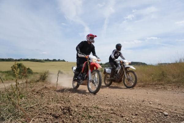 Trölf und Rossi trainieren mit den CRF s