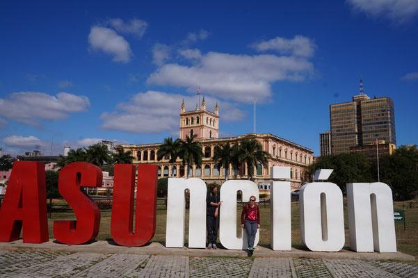 In asuncion die hauptstadt von  / Paraguay
