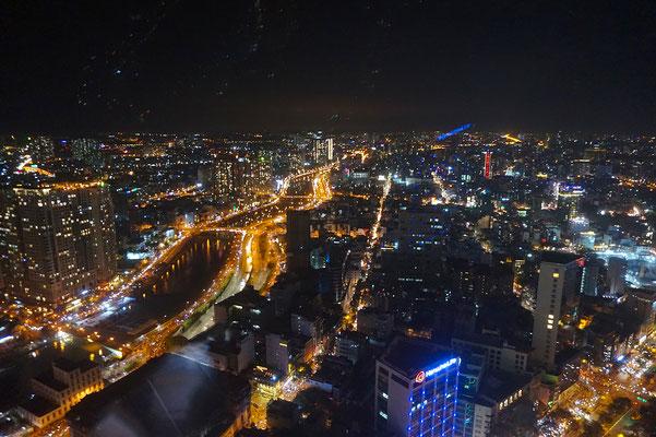 Aussicht vom Bitexco Tower - beeindruckend