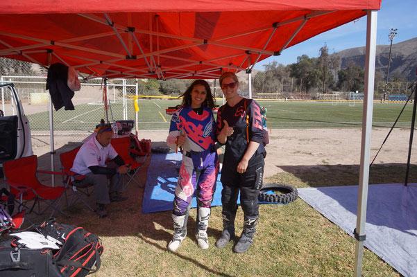 Gianna Verlarde - Die einzige Frau auf dem Motorrad / Atacama Rally Chile