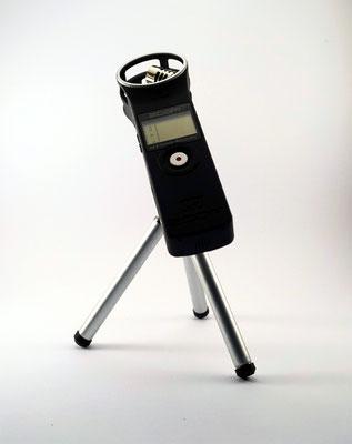 Mikrofonstativ für den digitalrekorder