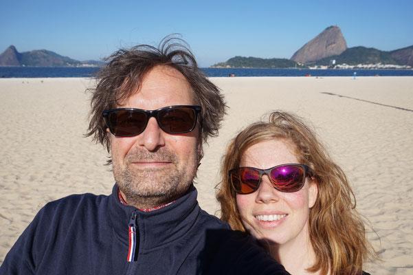 Der Zuckerhut und wir / Rio de Janeiro / Brasilien