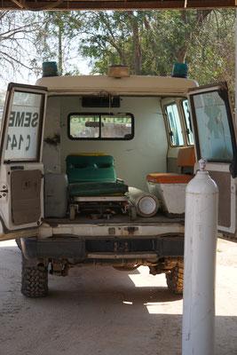 Ein Krankenwagen...möchte man nicht drin liegen / Paraguay