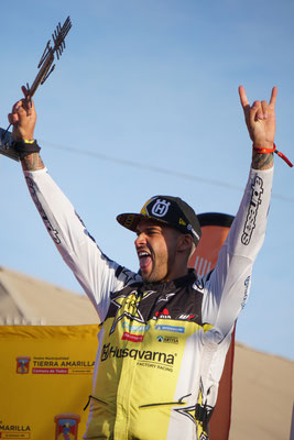 Winner: pablo Quintanilla / Atacama Rally Chile