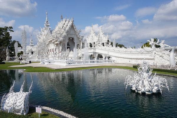 Chiang Rai - der weisse Tempel