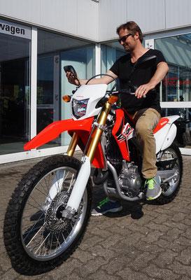 Kauf der Honda CRF in Schleswig