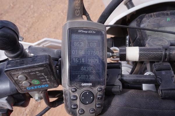 Ein GPS lügt nicht...