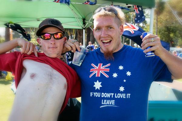 26. Januar, Australia Day - die größte Party des Landes