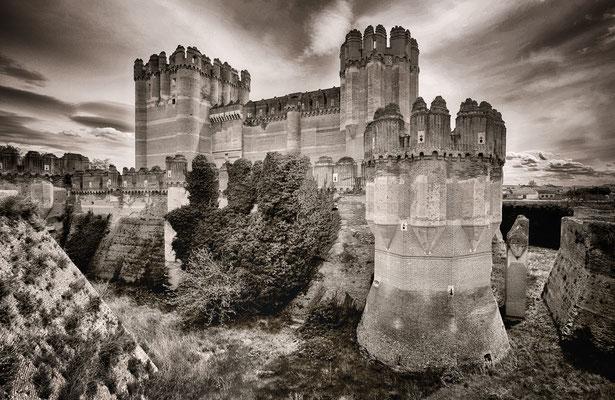 Castillo de Coca - Spanien