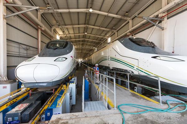 Betriebswerk für Hochgeschwindigkeitszüge (Saudi Arabien) - DB Engineering & Consulting