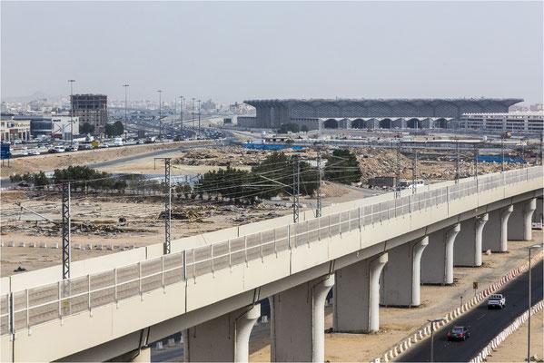 Neubau Hochgeschwindigkeitsstrecke Mekka-Medina (Saudi Arabien) - DB Engineering & Consulting