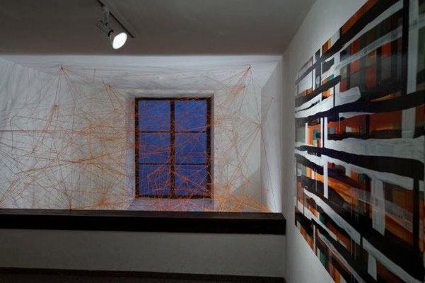 Ausstellungsrundgang transformation urban Ganserhaus, Wasserburg  Foto: Monika Humm