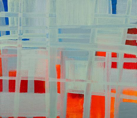 Monika Humm Transition-Hongkong 13, 2011, Acrylmalerei auf Leinwand, 60x70x2cm