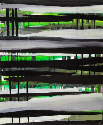Monika Humm Going on 6, 2005, Ölmalerei auf Leinwand, 120x100x3cm