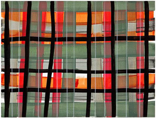 Monika Humm Primavera 2, 2016, Acrylmalerei auf Holz, 60x80x3,5cm