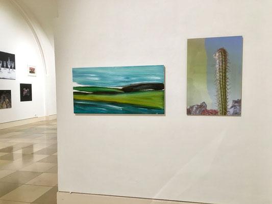 Ausstellungsansicht: Aufstehen - BBK-Mitglieder stellen aus, Galerie der Künstler, München, 2020