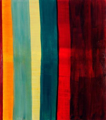 Monika Humm Aran 5, 2005, Ölmalerei auf Leinwand, 180x160x3cm