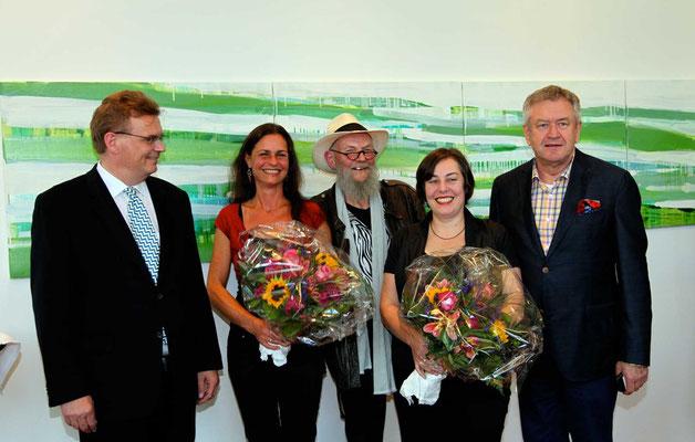 Vernissage Brückenschlag am 17.07.2012  Foto: Dr. Eckardt Heidenreich