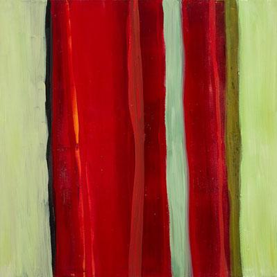 Monika Humm Aran 20, 2011, Ölmalerei auf Leinwand, 140x140x2cm
