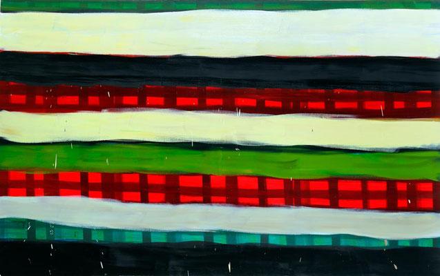 Monika Humm Summer 5, 2006, Ölmalerei auf Leinwand, 150x240x7cm