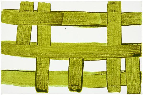 Monika Humm Transition 25, 2015, Acrylmalerei auf Leinwand, 40x60x3cm