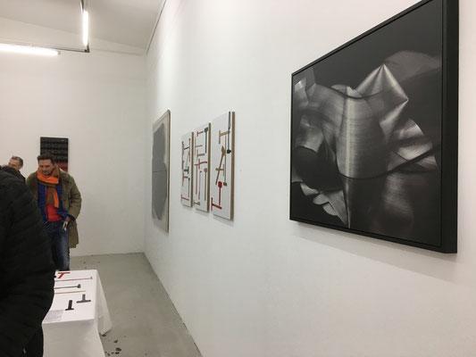 """Vernissage """"Schwarz und Rot und Gold"""" am 14.2.2020, Kunstverein Ebersberg"""