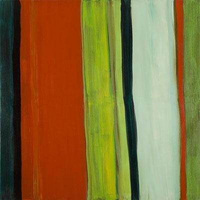 Monika Humm Aran 21, 2011, Ölmalerei auf Leinwand, 140x140x2cm