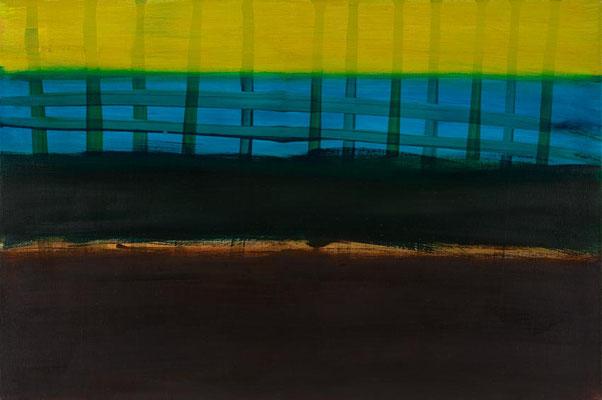 Monika Humm Indian Summer 22, 2015, Ölmalerei auf Leinwand, 75x50x3cm