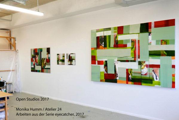 Monika Humm, Atelier 24, Open Studios 2017, Platform, München