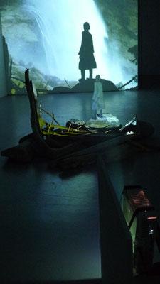 Arkatron, Eröffnung am 5.10.2010 Isabel Haase Rauminstallation