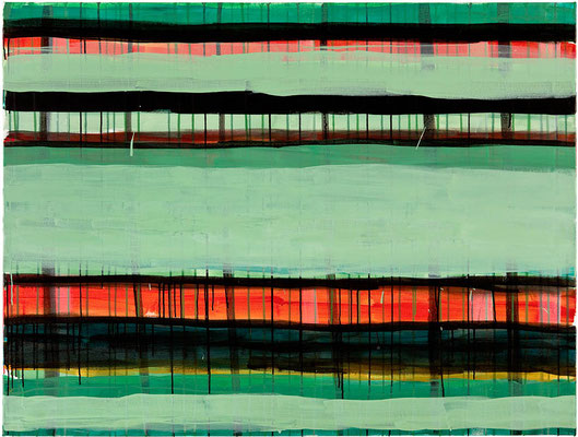 Monika Humm Primavera 7, 2016, Acrylmalerei auf Leinwand, 120x160x2cm