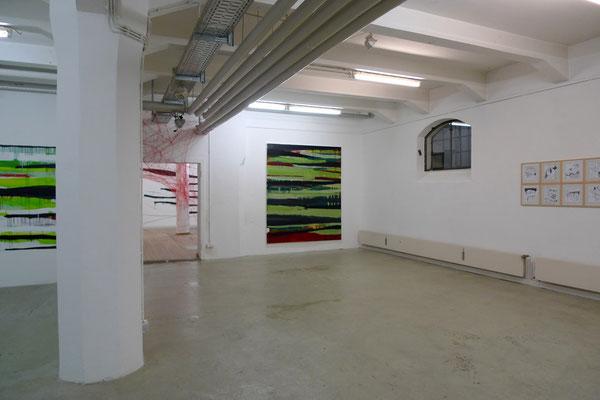 Eröffnung Gefüge und Netze, Haus 10, FFB, 6.2.2009
