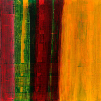 Monika Humm Aran 10, 2005, Ölmalerei auf MDF, 55x55x2cm