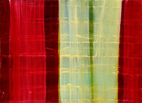 Monika Humm Aran 8, 2005, Ölmalerei auf Leinwand, 40x55x7cm