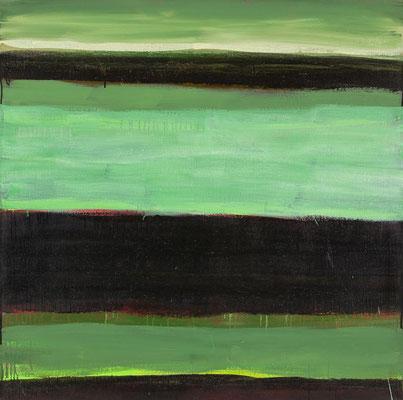 Monika Humm Indian Summer 11, 2006, Ölmalerei auf Leinwand, 120x120x2cm