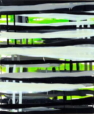 Monika Humm Going on 7, 2005, Ölmalerei auf Leinwand, 120x100x3cm