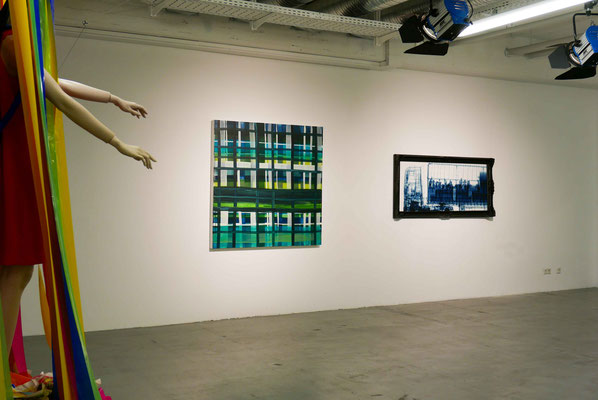 Ausstellung Meisterstücke    Mitte: Monika Humm, constructed 8, 2016