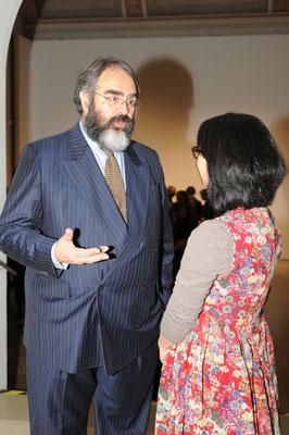 Ausstellungseröffnung Pangaea, am 9.3.2012, Galerie der Künstler, München