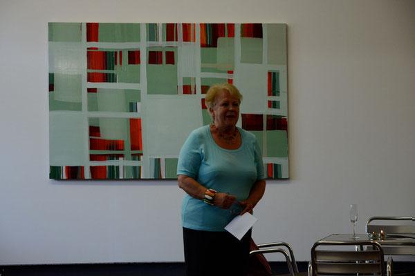 Eröffnung am 5.7.2012: Monika Humm transition Foto: Saskia Buschke