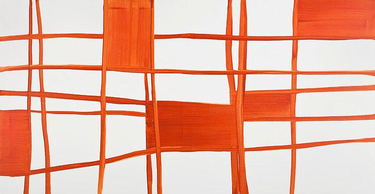 Monika Humm Transition-Hongkong 14, 2012, Acrylmalerei aufLeinwand, 120x230x2cm