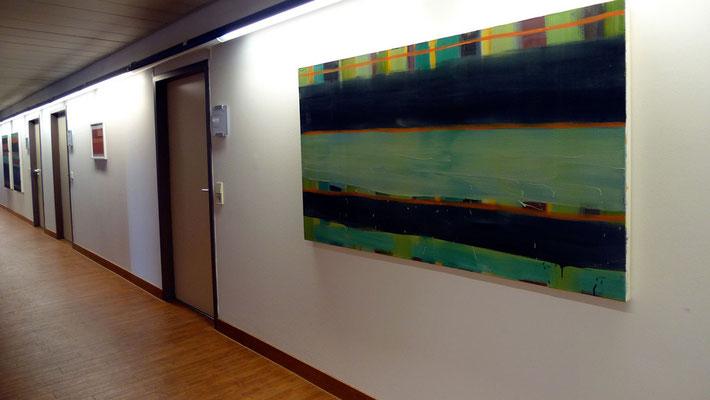 Ausstellungsansicht Brückenschlag  Foto: Monika Humm