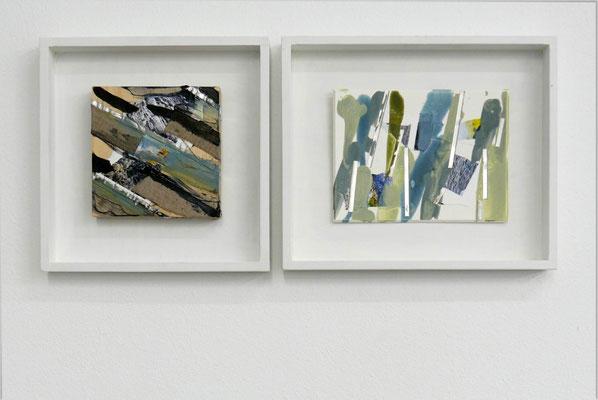 Monika Humm, Arbeiten aus der Serie volcanism, 2017