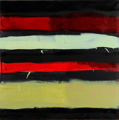Monika Humm Indian Summer 8, 2006, Ölmalerei auf Leinwand, 100x90x7cm