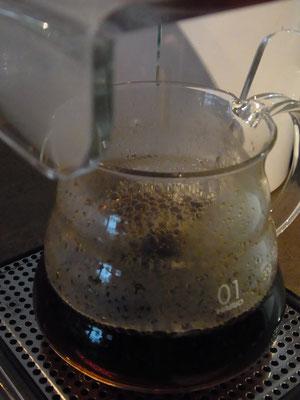 "Der handgefilterte Kaffee im ""Range Server"""
