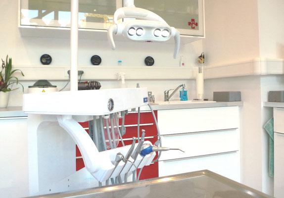 Dental-Einheit (Foto: Tierärztin Svea Lucas)