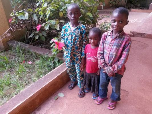 Einige der geförderten Kinder.