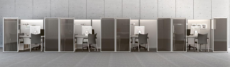 Minimalismus Büro