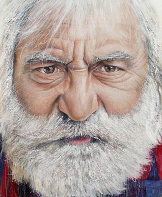 """""""Jean-François"""" Acrylique sur toile, 1m60 x 1m30, 2012"""